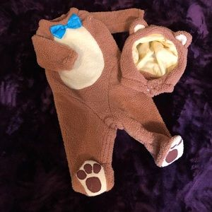 Other - Teddy Bear Costume w/ Matching Hood, Size 6-12M
